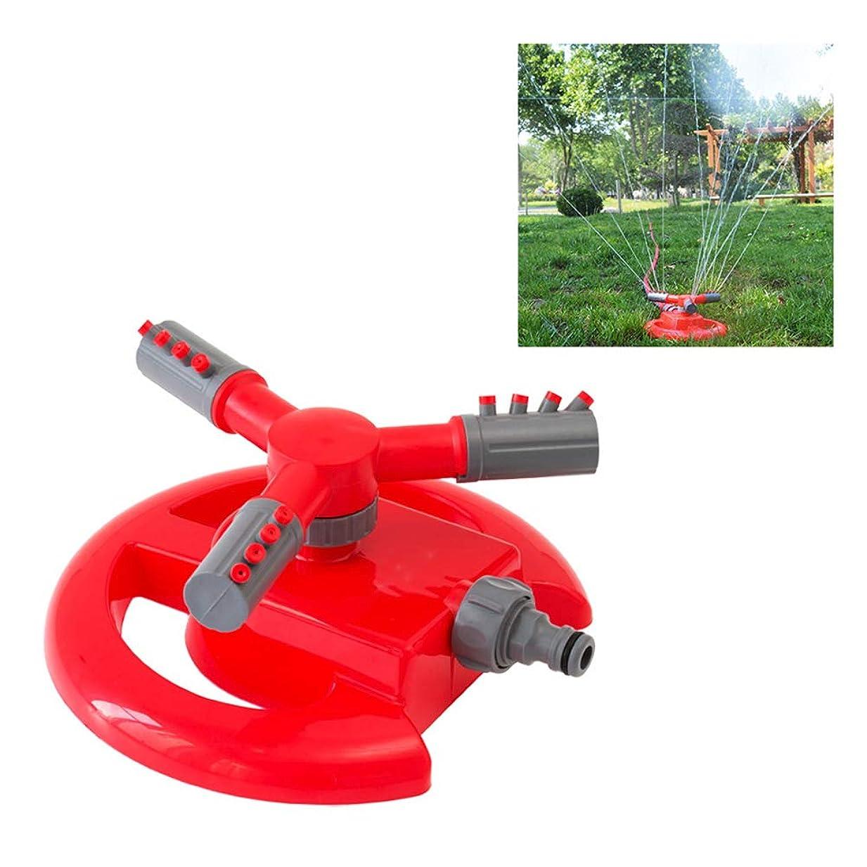 必要としている研磨剤ダーリン芝生スプリンクラー、ガーデンスプリンクラー360°自動回転水スプリンクラーシステムアジャスタブル屋外自動スプリンクラー芝生灌漑システム
