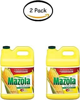 PACK OF 2 - Mazola 100% Pure Corn Oil, 2.5 gal