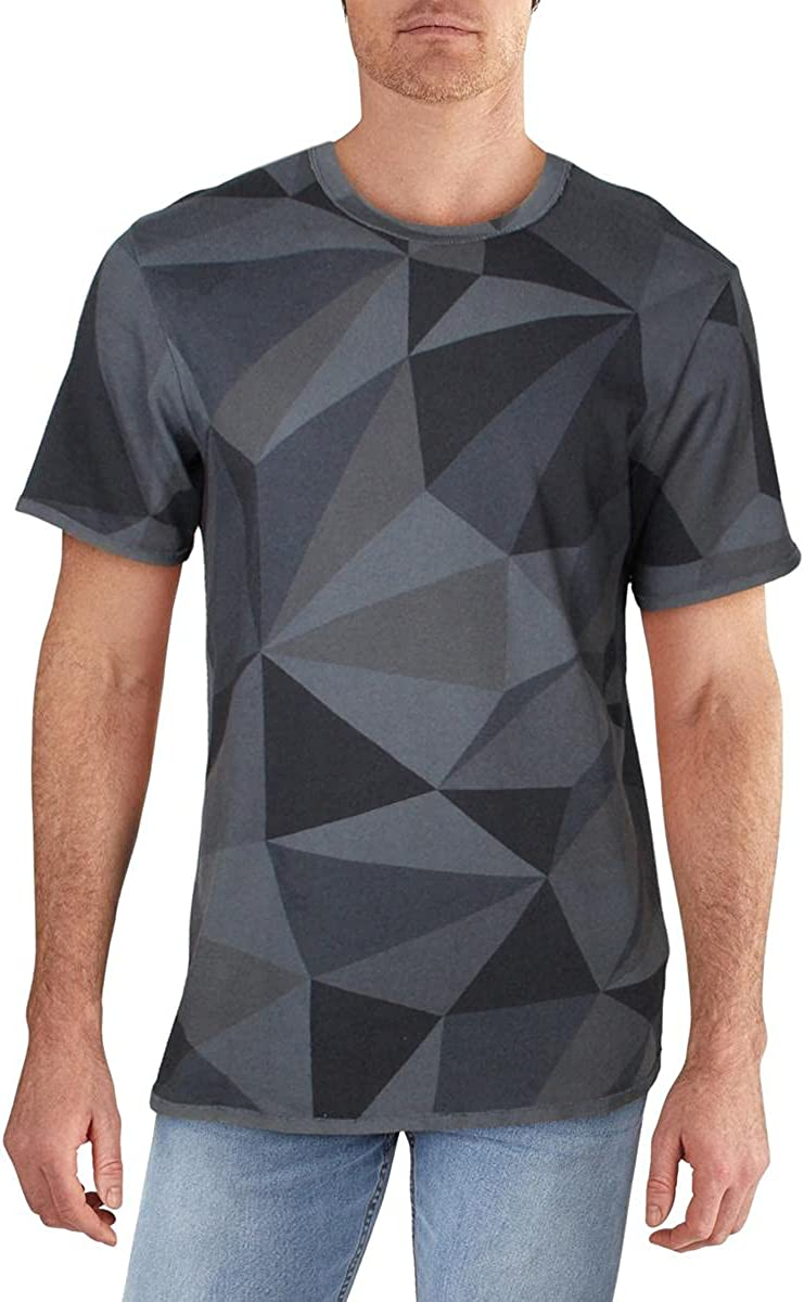 J Brand Mens Zoomah Cotton Crew Neck T-Shirt
