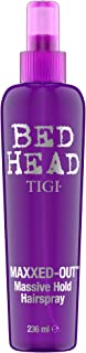 TIGI Bed Head Maxxed Out Massive Hold Hair Spray, 8 Ounce