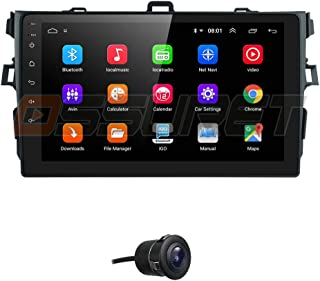 2G RAM + 64G ROM Android 10 Car Radio Stereo Fit for 2007 2008 2009 2010 2011 Toyota Corolla with 9 Inch Video Player Blue...