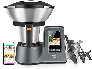Taurus Mycook Touch Robot de Cocina, wifi, 1600 W, 2 L, hasta 140 grados, multifunción, más de 8000 recetas, Vaporera 2 ni...