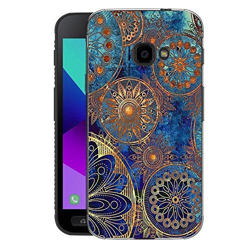 FoneExpert® Samsung Galaxy Xcover 4 Tasche, Ultra dünn TPU Gel Hülle Silikon Hülle Cover Hüllen Schutzhülle Für Samsung Galaxy Xcover 4