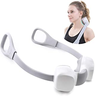 U'COVER Shiatsu Neck and Back Massager, Electric Cordless 3D Deep Kneading Massager for Neck, Shoulder, Legs, Muscle and Body Relief, Use at Home, Office, Car, Sports, Travel