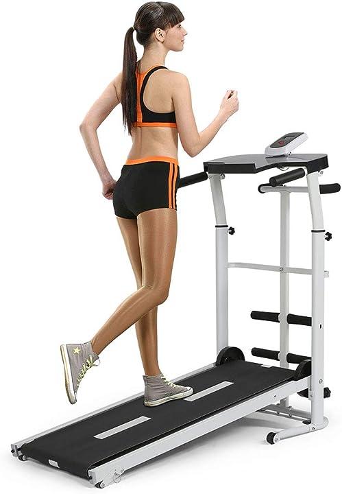 Tapis roulant tappetino da passeggio per fitness, macchina da passeggio, 110 * 45 * 105 cm B07W9LBRX1