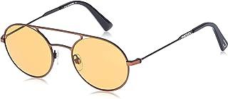 نظارة شمسية للجنسين من ديزل DL030138E51 - برونزي/ بني معدني