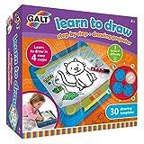 Galt- Learn to Draw Aprende a Dibujar, Multicolor (1105566)