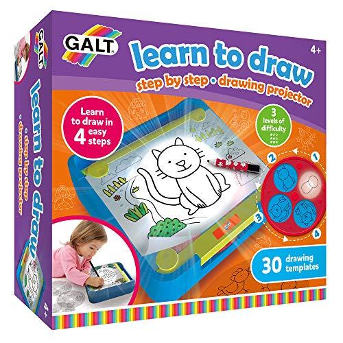 Galt- Learn to Draw Impara a disegnare, Multicolore, 1105566
