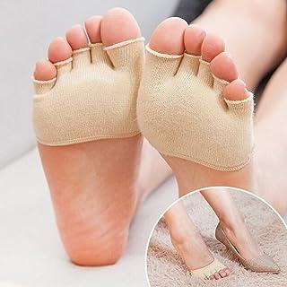 4c9f9395 PoeHXtyy - Calcetines Invisibles para Mujer, para Yoga, Gimnasio,  Antideslizantes, con tacón
