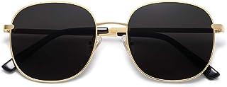 SOJOS Classic Square Sunglasses for Women Men with Spring Hinge AURORA SJ1137