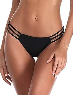 Women's Triple Strappy Bikini Bottoms Thong