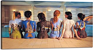 Yatsen Bridge Canvas Print Wall Art Pink Floyd Album Covers Pictures Naked Women Poster Painting Cool Unique Modern Back Catalogue Artwork Decor for Living room Bed room Home Decoration Bar(40