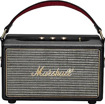 Marshall Kilburn Portable Wireless Bluetooth Speaker - Black (Certified Refurbished)
