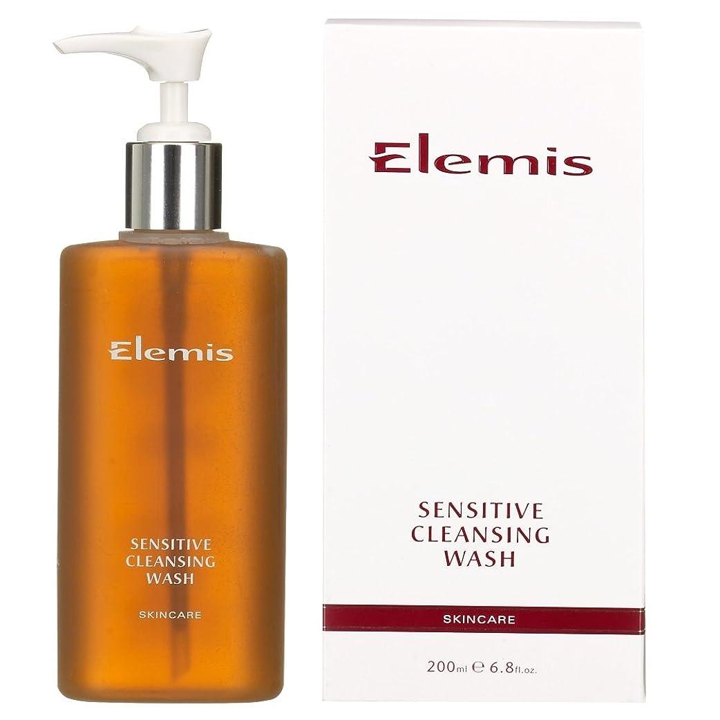 週間テクニカル埋め込むエレミスは敏感クレンジングウォッシュをスキンケア (Elemis) (x6) - Elemis Skincare Sensitive Cleansing Wash (Pack of 6) [並行輸入品]