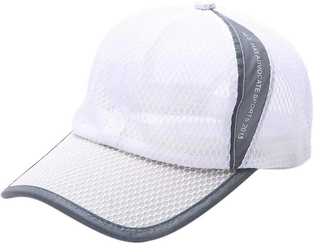 Amober Hats for Women,Summer Breathable Mesh Baseball Cap Men Women Sport Hats