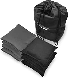 JMEXSUSS Weather Resistant Standard Corn Hole Bags, Set of 8 Regulation Cornhole Bags for Tossing Game