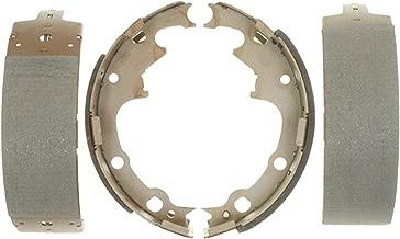 ACDelco 14538B Advantage Bonded Rear Brake Shoe Set