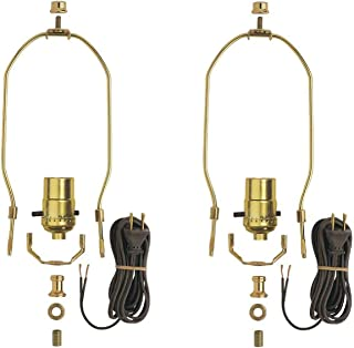 Dysmio Lighting - Make A Lamp Kit Brass Plated - 2 Pack