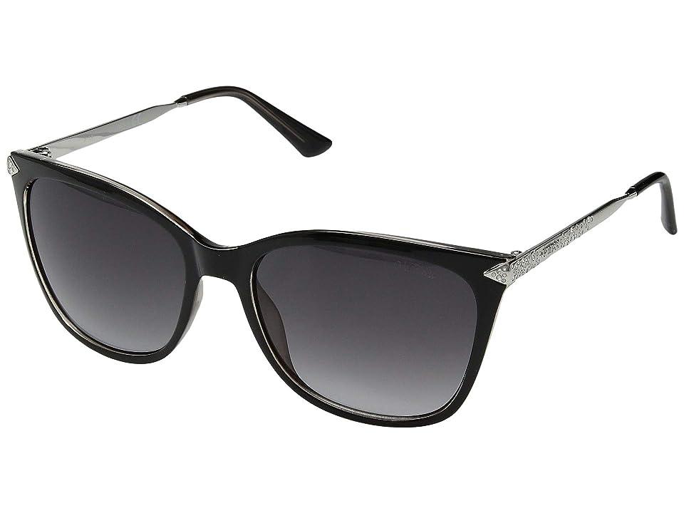 GUESS GU7483-S (Black/Other/Gradient Smoke) Fashion Sunglasses