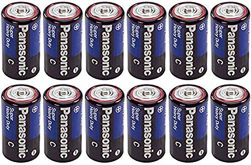 Panasonic Heavy Duty C Batteries X 12