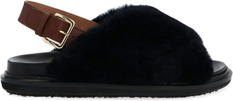 Marni Luxury Fashion Damen FBMS004601LM07200B99 Schwarz Sandalen   Jahreszeit Permanent