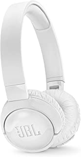 JBL Tune600Btnc In White – Over Ear Active Noise-Cancelling Bluetooth Headphones – Headset W/Built-In Microphone – 12H + Wireless Streaming, JBLt600Btncwht