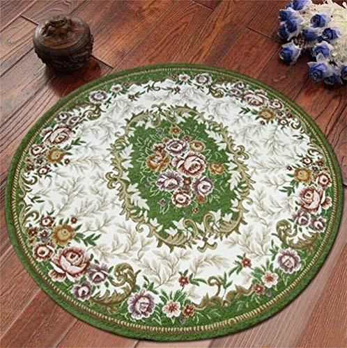 carpet Lavable sous Vide Tapis Durable Tapis Rond Nordique Salon Salon de l'hôtel Chambre à Coucher Tapis Accueil Tapis Quotidien,Diamètre 160CM,# 2