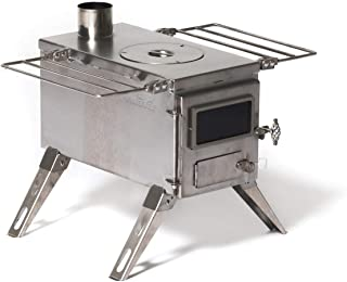 tiny wood cook stove