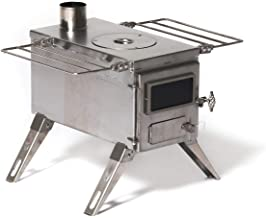 Winnerwell Nomad Medium Tent Stove   Tiny Portable Wood Burning Stove for Tents,..