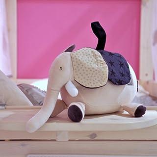 TOYANDONA Newborns Baby Infant Stroller Toy Crib Toy Cartoon Organic Cotton Lullaby Music Bell Plush Education Hanging Stroller Rattle Teether Toy