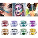 8-Pack Icolory Loose Holographic Cosmetic Chunky Glitter