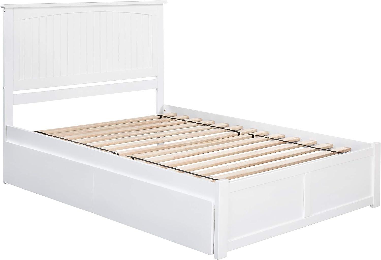 Atlantic Furniture Nantucket Platform Bed 2 Large special El Paso Mall price Drawe Urban with