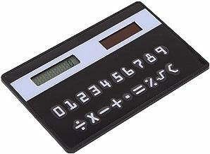 smexo Mini超スリムクレジットカードサイズSolar Poweredポケット8桁電卓
