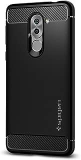 Spigen Rugged Armor Designed for Huawei Honor 6X Case (2017) - Black