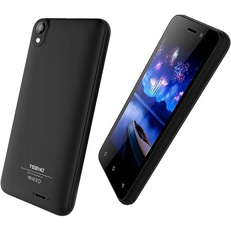 TEENO Telefono Movil Libre 4.0 Pulgadas 1GB RAM 8GB ROM 4G/WiFi 2*Micro SIM & 1 SD Card Dual Cámara