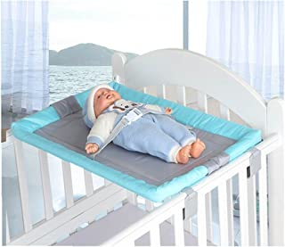 Universal Baby Cot Top Changer 70 X 45 CM CM Portable Changing Table (Blue)