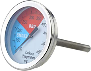 2 Termometri Da Forno In Acciaio Professionale Termometro Per Barbecue A Gas Per Barbecue A Carbone, 100-475 ° F / 100-550...