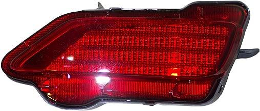 Passengers Rear Bumper Reflector Light Lamp Unit Replacement for Toyota RAV4 81480-0R020 TO1185107 AutoAndArt