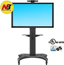 North Bayou AVF1500-50-1P - Soporte móvil de suelo para pantallas LCD, LED, Plasma y curvas de 32
