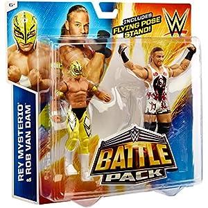 WWEBattle Pack Series #33: Rob van Dam vs. Rey Mysterio Action Figure (2-Pack)