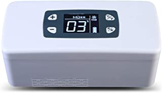 Bärbar Insulin Mini Cooler Kylmedicin Förvaring Kylskåp 2-8 ℃ Full uppsättning Inbyggt batteri USB laddningskabel Medicin ...