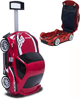 [Lucky Planet] Toyota Official Kids car Luggage- Sports car RED