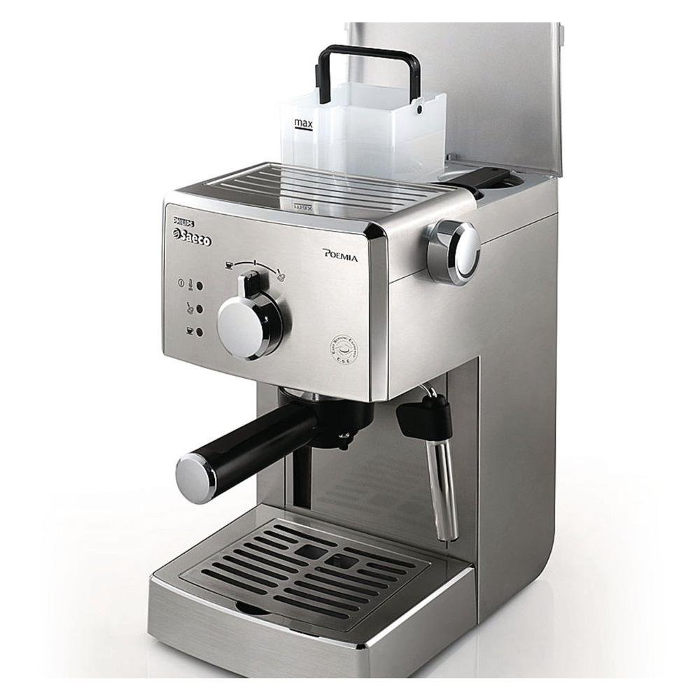 Saeco hd842711 máquina para café Poemia Top SS Potencia 950 W capacidad 1 litro color acero: Amazon.es: Hogar