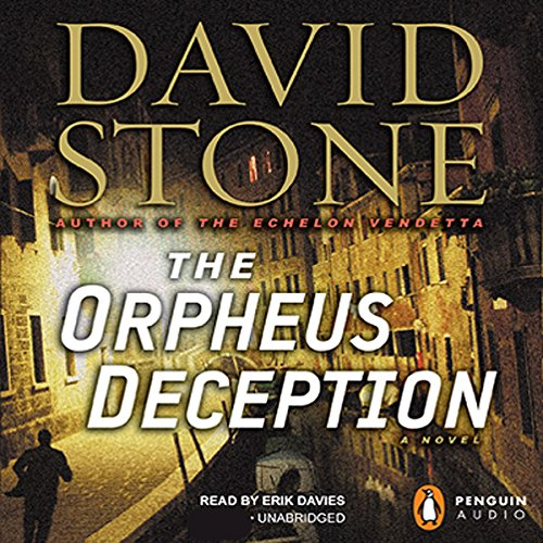 The Orpheus Deception audiobook cover art