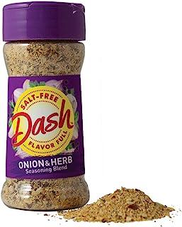 Dash Salt-Free Seasoning Blend, Onion & Herb, 2.5 Ounce (Pack of 12)