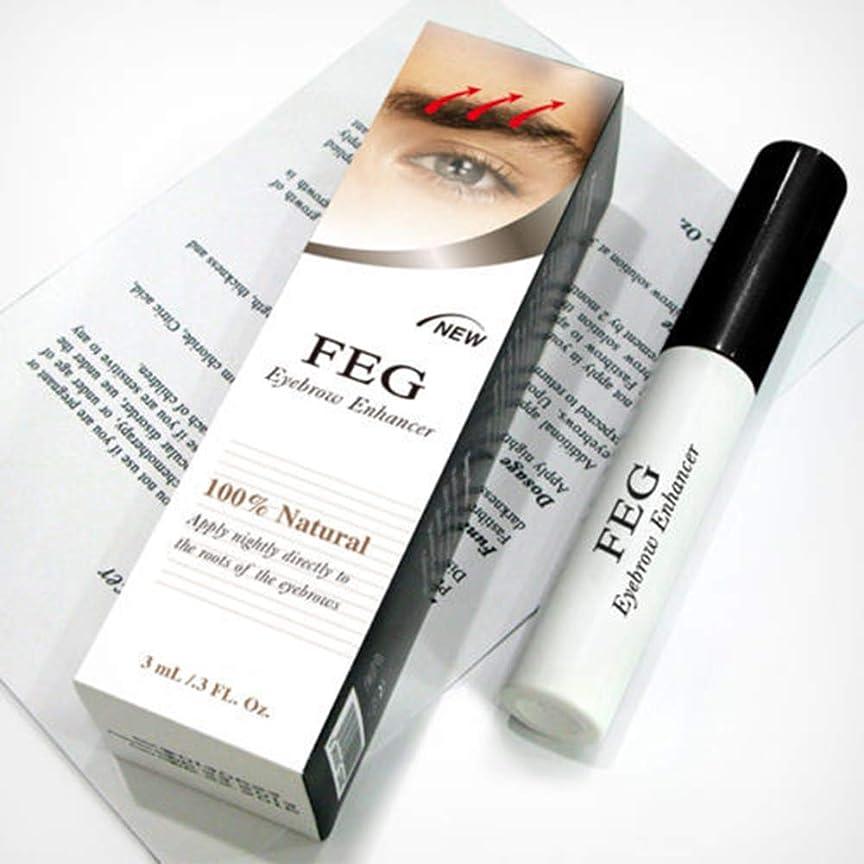 考えライバル高めるRabugoo 3g健康な光沢のある眉毛の成長血清のエッセンス無毒の安全な成分眉毛のエンハンサー液体