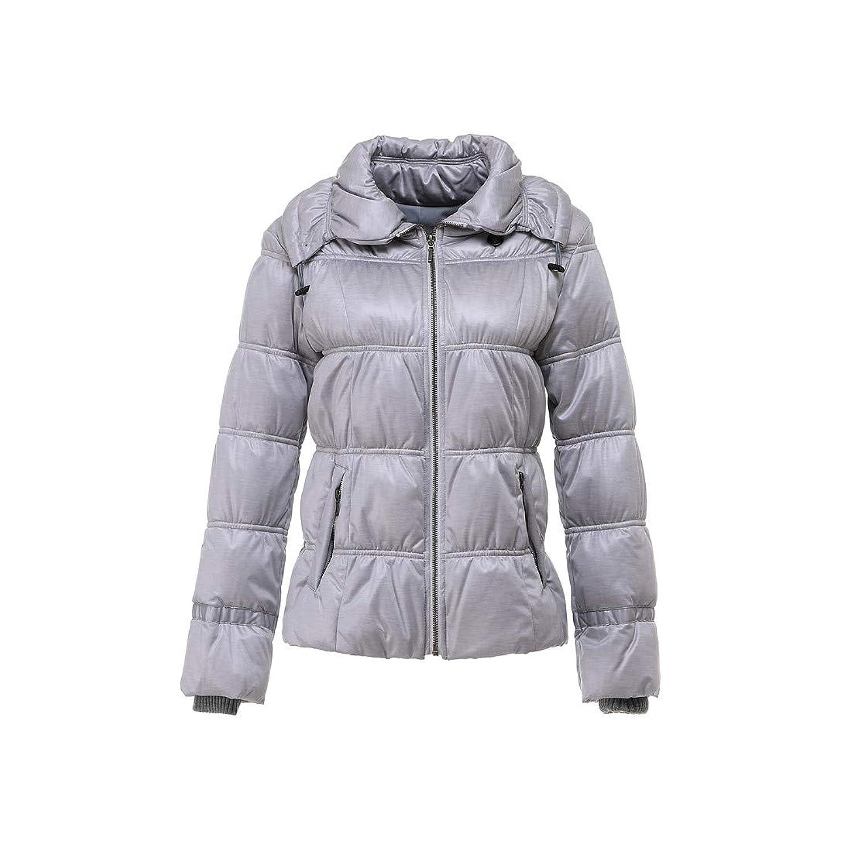 NE'ARLYダウンジャケット レディース ニット表地 防風袖口コート 超軽量 防寒 暖かい