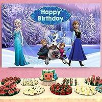 漫画の背景雪だるまスノーフレークエルザクイーンの背景写真の背景子供の誕生日新生児の写真撮影子供の写真の背景結婚式フェスティバルテーマパーティー写真ブースの小道具