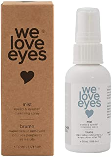 All Natural 100% Oil Free Hypochlorous Eyelid Cleansing Spray - We Love Eyes - Optometrist made for Lash Extension Care an...