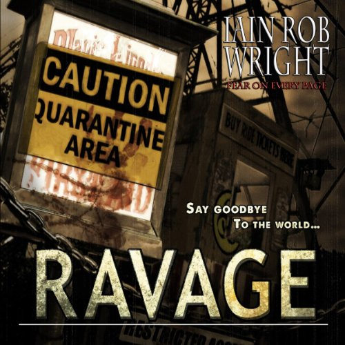 Ravage audiobook cover art